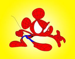The Amazing Spider-Mouse by WaggonerCartoons