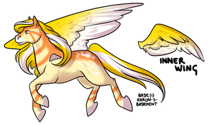 CLOSED - Pegasus Adoptable 214 by LeaAdoptables