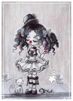 Clown Music doll by Gradalis