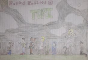 Total Drama Prison Island Raving Rabbits by Clyde-the-Snivy