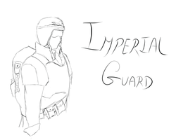 Imperial Guard - Fan Art by Dearionart