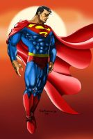 Superman Colored by Tronar