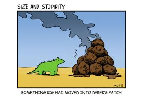 A big lump of poo by Size-And-Stupidity