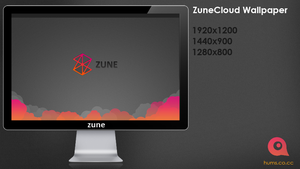 ZuneCloud Wallpaper by ChrisVme