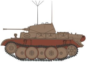 Panzer 2 Ausf.L Lutch by billy2345