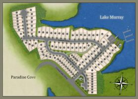 Paradise Cove Siteplan by MontgomeryKern