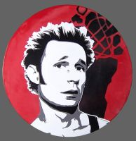 Mike Dirnt - Stencil by theraineydaze