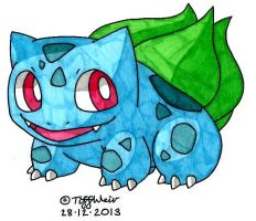 Bulbasaur by trinityweiss