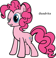 Pinkie Pie coloured by Goodrita