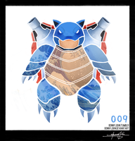 Blastoise ! Pokemon One a Day!