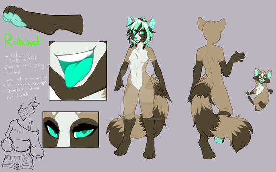 Ratchet reference sheet by Cinnamon-scroll