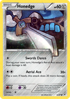 Fake PokeCard - Honedge by Mikoto-chan