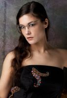 new glasses front view by eyefeather-stock