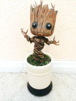 Dancing Baby Groot Jr by GandaKris