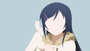 Ayase vectorized wallpaper by Browniehooves