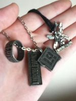 My Linkin Park Charms by luxordrocks1995