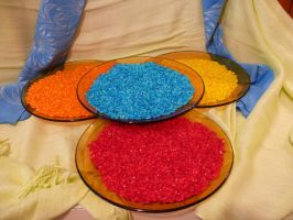 Coloured rice by Severius