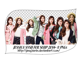 [Render Pack] Jessica SNSD for Soup  - 8 PNGs by jangkarin