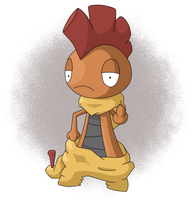 Scrafty by ZenMalice