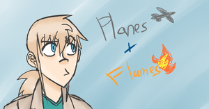 Flames n' planes by FlamingFiretrucks