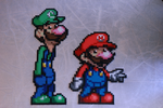 Mario and Luigi by Brentimous