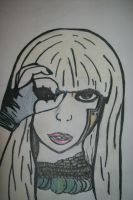 Lady Gaga Colored by FurnaceFairy