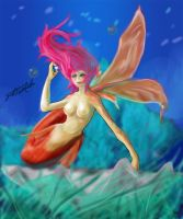 Gold Fish by BlackPhrost-Ixion