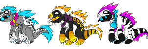 Fluffy Raptor Auction :CLOSED: by Swift-The-Kitty