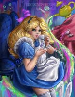Alice in Wonderland by ZazzyCreates