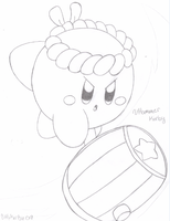 Hammer Kirby - drawn by water-kirby