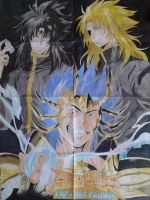 Saint Seiya The Lost Canvas by Laroskershall