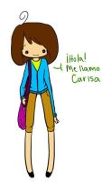 Me llamo Carisa :D by Belly-Button-Monster