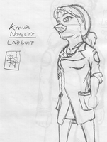 Kaolla Labsuit by 44thwindsword