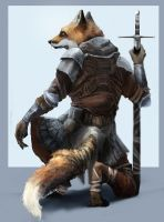 Fox warrior by Ketunleipaa