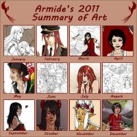 Summary of Art - 2011 by Armide