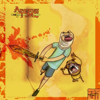 Adventure time Hard Core by GuilleJoK