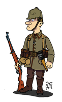 German_Army_WWI_Soldier by darthpandanl