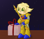 Robot Rumpus Secret Santa gift - Enker by FireflyYoshi
