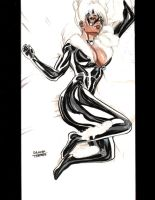 Black Cat Copic by dtor91