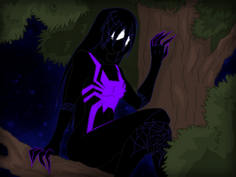 Spider-bite on Night Patrol by TFAfangirl14