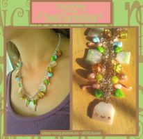 Sweet Tea Charm Necklace by Octopop-n-Aicing