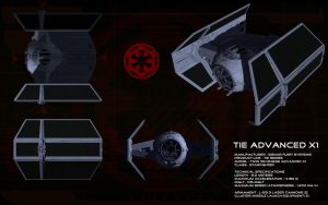TIE  Advanced X1 ortho by unusualsuspex