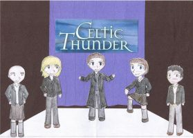 Celtic Thunder-Chibi by yearoftheferret