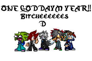A YEAR BITCHEEES! by Dark15Shooter