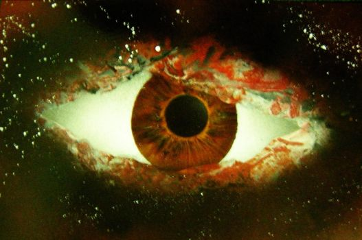 Spraypaint Art Eye by PhilPerron