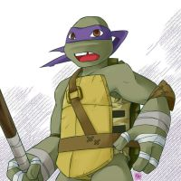 Practice : 2k12 donatello by mukuto