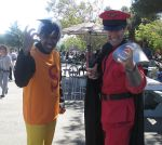 Zak Monday and M. Bison by R-Legend