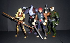 Thundercats 2011 - 6 inch Figures by CyberDrone
