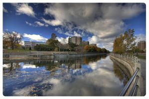 Downtown Ottawa, The Canal by AmirNasher