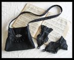 Bag 'n Gloves, Somnia Romantica by marjolein Turin by SomniaRomantica